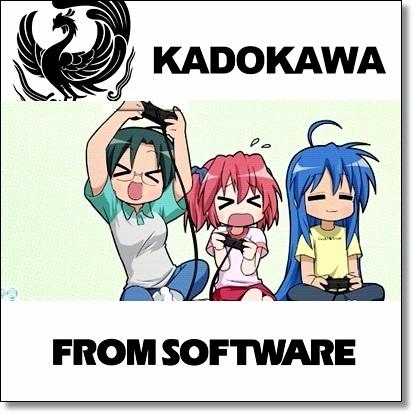 Kadokawa Tie Up From Software.